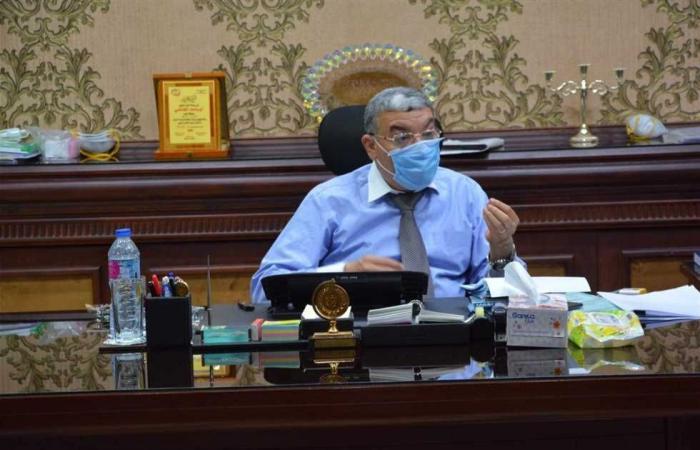 المصري اليوم - اخبار مصر- محافظ المنيا: إعداد دراسة شاملة للتخلص الآمن من مخلفات المنطقة الصناعية موجز نيوز