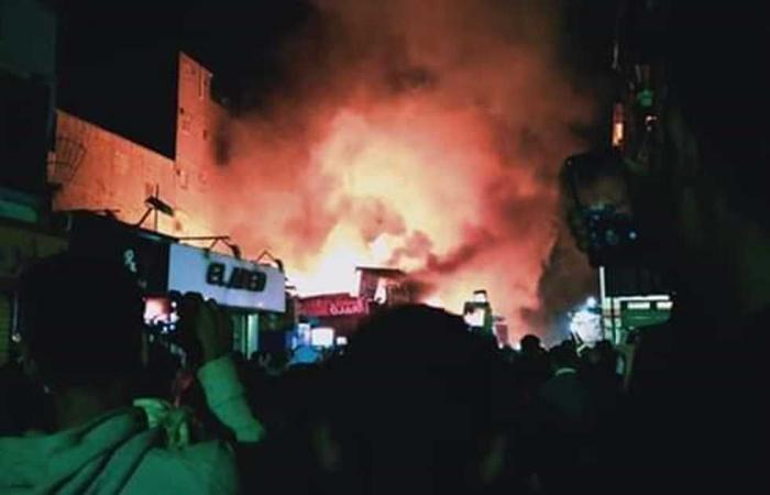 #المصري اليوم -#حوادث - السيطرة على حريق في منزل ومخزن شمع بشبرا الخيمة موجز نيوز