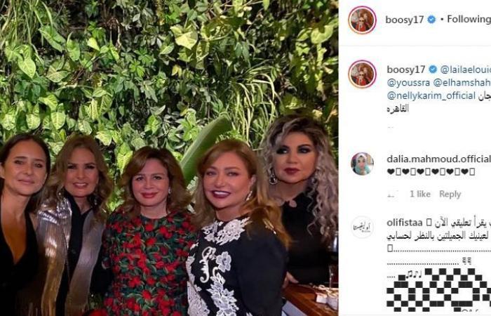 #اليوم السابع - #فن - الناس الحلوة على هامش المهرجان.. شاهد يسرا وليلى علوى ونيللى كريم بالقاهرة السينمائى