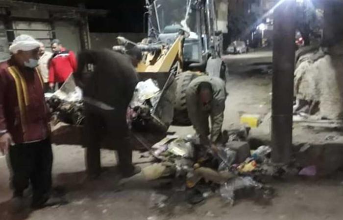 المصري اليوم - اخبار مصر- عايده تتابع أعمال النظافة بدسوق ليلا موجز نيوز