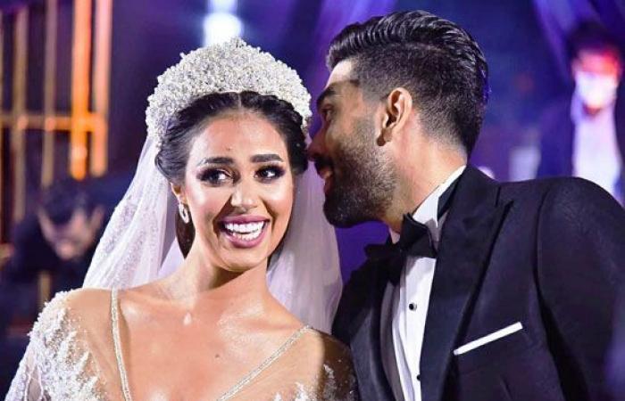 #اليوم السابع - #فن - النجم تامر حسنى وستار أكاديمي ومصطفي حجاج ودينا يشعلون حفل زفاف رنا سماحة .. صور