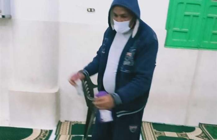 المصري اليوم - اخبار مصر- «أوقاف الإسكندرية»: «كمامة وسجادة» لكل مصل في المسجد (صور) موجز نيوز