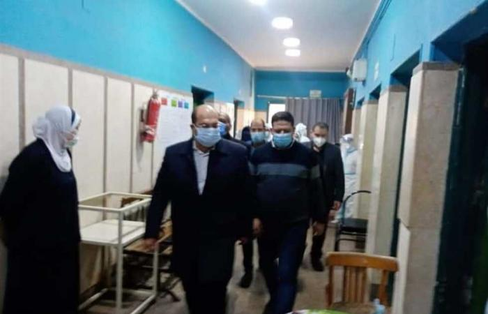 المصري اليوم - اخبار مصر- نائب محافظ الجيزة يتفقد مستشفيات أوسيم و ٦ أكتوبر والشيخ زايد المركزي موجز نيوز