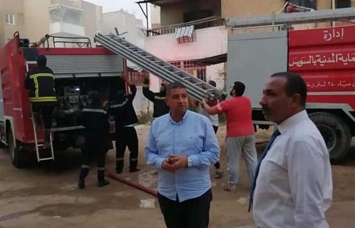 #المصري اليوم -#حوادث - التحريات: ماس كهربائي وراء حريق شقة حلوان موجز نيوز