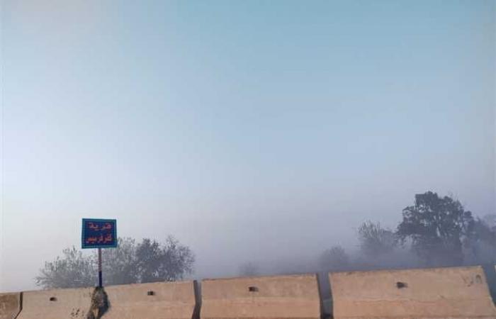 #المصري اليوم -#حوادث - «مرور القليوبية» يناشد المواطنين بتوخي الحذر من الشبورة المائية موجز نيوز