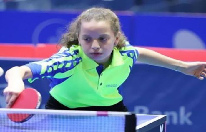 الوفد رياضة - هنا جودة تتوج بالميدالية الذهبية في بطولة الجمهورية لتنس الطاولة موجز نيوز