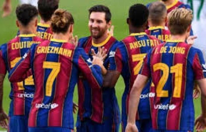 الوفد رياضة - كورة جول | مشاهدة مباراة برشلونة وهويسكا بث مباشر في الدوري الاسباني بدون تقطيع موجز نيوز