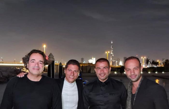 #اليوم السابع - #فن - رحلة الهضبة عمرو دياب فى دبي لقضاء احتفالات رأس السنة × 5 صور