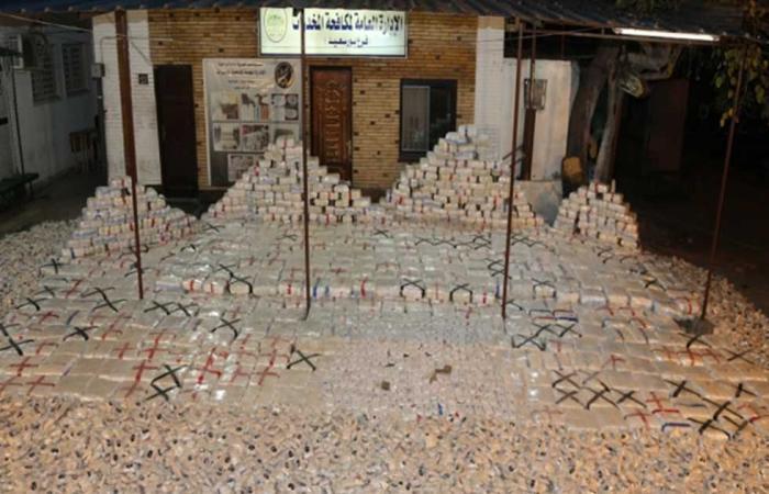 #المصري اليوم -#حوادث - قيمتها 611 مليون جنيه.. إحباط تهريب 8 أطنان حشيش و8 ملايين قرص «كبتاجون» بميناء بورسعيد موجز نيوز