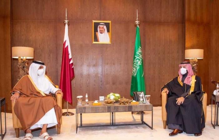 #المصري اليوم -#اخبار العالم - ولي العهد السعودي يلتقي أمير دولة قطر لاستعراض العلاقات الثنائية موجز نيوز