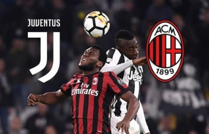 الوفد رياضة - AC Milan vs. Juventus مشاهدة مباراة يوفنتوس وميلان اليوم بث مباشر ماتش الدوري الايطالي موجز نيوز