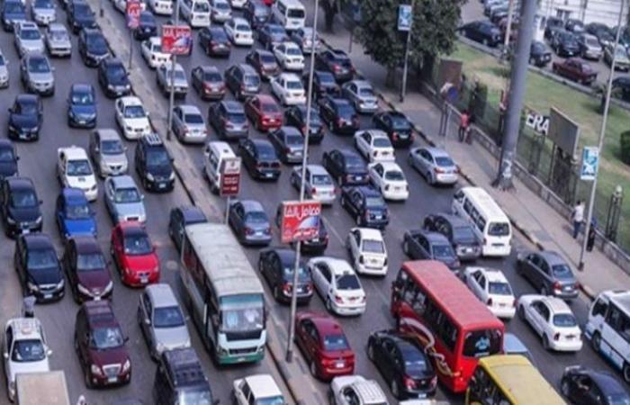 الوفد -الحوادث - كثافات مرورية بغمرة في اتجاه رمسيس والتحرير موجز نيوز