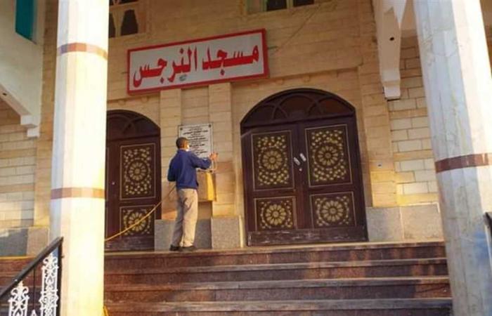 المصري اليوم - اخبار مصر- رش وتطهير شوارع وأبنية مصيف بلطيم لمواجهة كورونا موجز نيوز