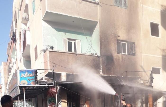 #اليوم السابع - #حوادث - السيطرة على حريق بأحد المطاعم فى مدينة سفاجا دون إصابات.. صور