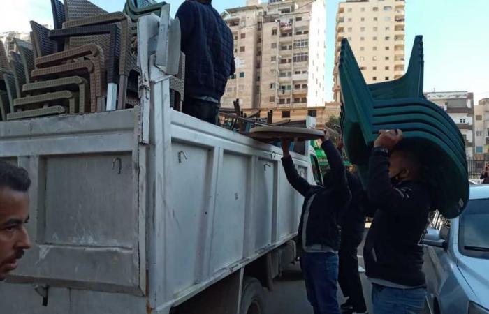 #المصري اليوم -#حوادث - «مرافق الجيزة» تطارد الباعة الجائلين وتضبط 287 مخالفة موجز نيوز