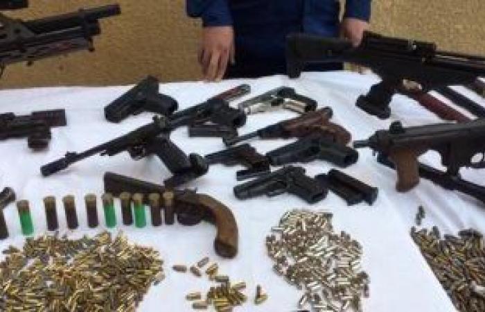 #اليوم السابع - #حوادث - حبس عاطل متهم بالاتجار فى الأسلحة النارية بكرداسة وأمر بضبط أخر هارب