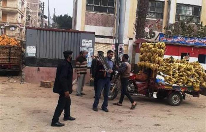 المصري اليوم - اخبار مصر- حملات مكبرة لرفع الإشغالات وتفعيل القانون على غير الملتزمين بالشرقية موجز نيوز