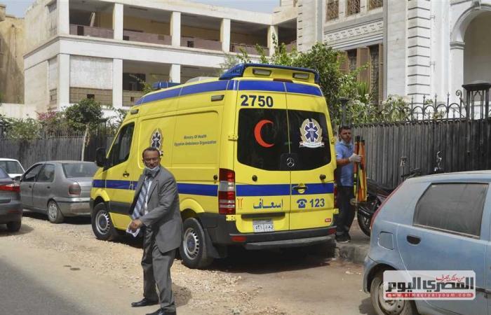 #المصري اليوم -#حوادث - إصابة شخصين في حادث تصادم سيارة على طريق الصحراوى الشرقى ببنى سويف موجز نيوز