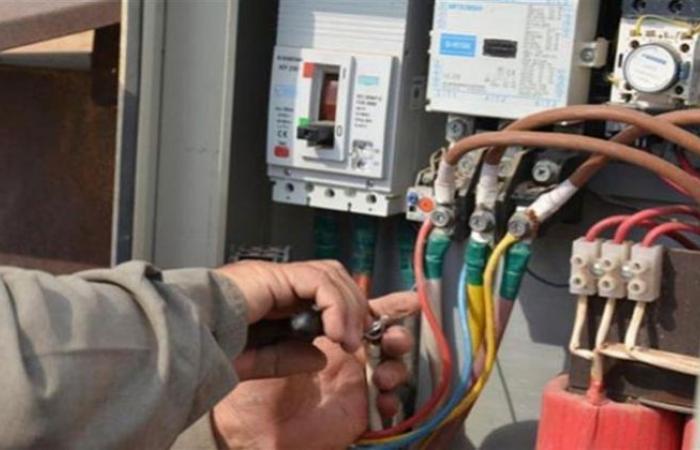 الوفد -الحوادث - ضبط 3485 قضية سرقة تيار كهربائي خلال 24 ساعة موجز نيوز