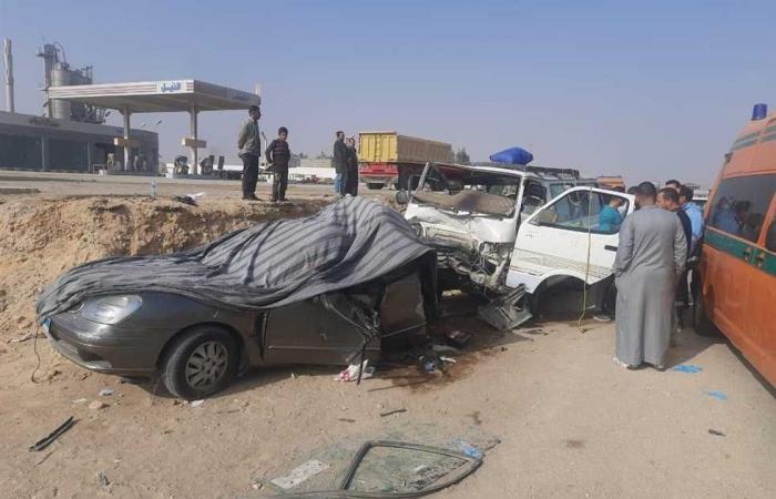 #المصري اليوم -#حوادث - مصرع طالب وإصابة 5 أشخاص في حادثي تصادم منفصلين بسوهاج موجز نيوز