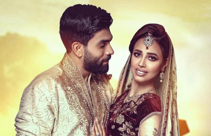 #اليوم السابع - #فن - رنا سماحة وزوجها سامر أبو طالب في جلسة تصوير بالملابس الهندية