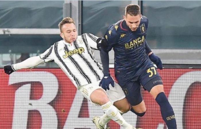 الوفد رياضة - يوفنتوس يلدغ جنوي في الوقت الإضافي ويتأهل إلي ربع نهائي كأس ايطاليا موجز نيوز