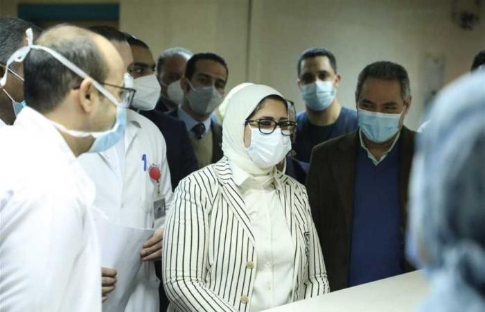 المصري اليوم - اخبار مصر- «الصحة»: ارتفاع حالات الشفاء من مصابي كورونا إلى 121072 وخروجهم من المستشفيات موجز نيوز