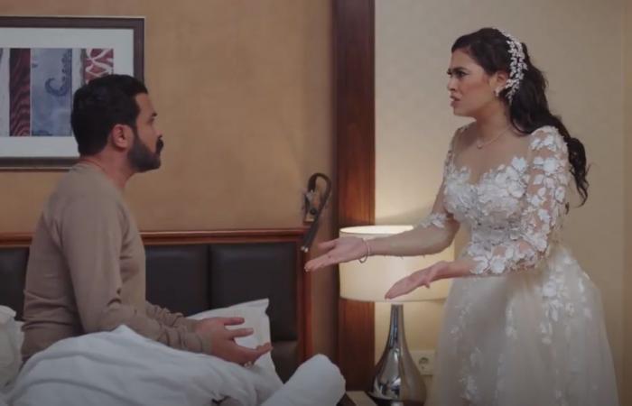 #اليوم السابع - #فن - ضربة معلم.. مشهد كوميدى بين محمد رجب وهاجر أحمد فى ليلة الدخلة (فيديو)