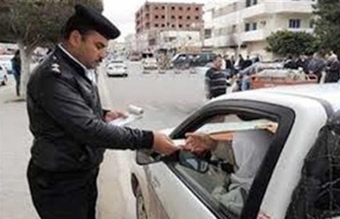 المصري اليوم - اخبار مصر- ضبط 63 مخالفة مرورية فى حملات مرورية بمطروح موجز نيوز