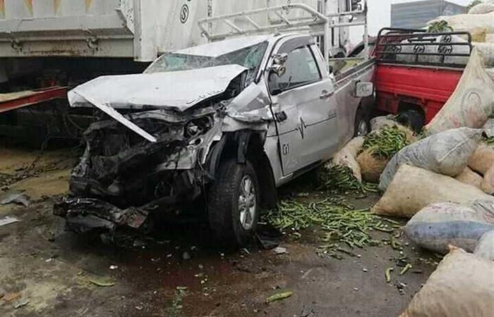 #المصري اليوم -#حوادث - مصرع 3 وإصابة 7 في حادث تصادم بطريق «السويس - الإسماعيلية» موجز نيوز
