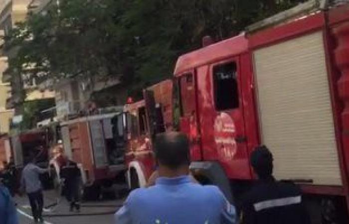#اليوم السابع - #حوادث - ندب الأدلة الجنائية لمعاينة حريق بشقة فى سوق زنانيرى بالإسكندرية
