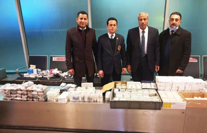 #اليوم السابع - #حوادث - جمارك مطار القاهرة تحبط محاولتى تهريب كمية من الأدوية