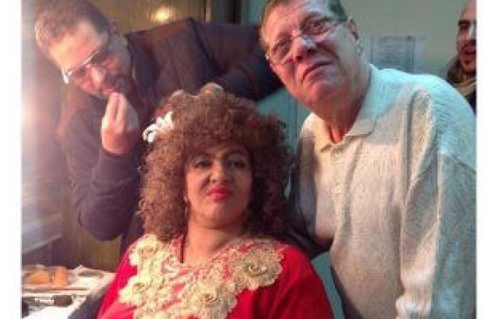 #اليوم السابع - #فن - هالة صدقى تكشف عن صورة من كواليس مسلسل عفاريت عدلى علام: الكوميديا علاج فعال