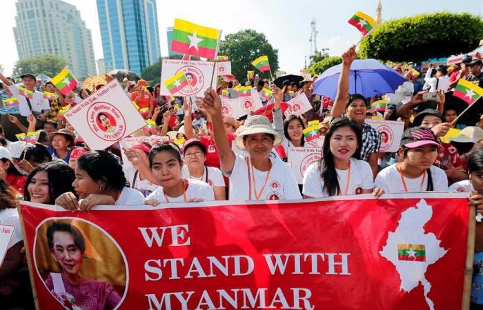 #المصري اليوم -#اخبار العالم - جيش ميانمار يعلن حالة الطوارئ ويعتقل عددًا من كبار قادة الحكومة موجز نيوز