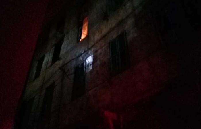 #المصري اليوم -#حوادث - السيطرة على حريق بشقة سكنية وسط الإسكندرية موجز نيوز
