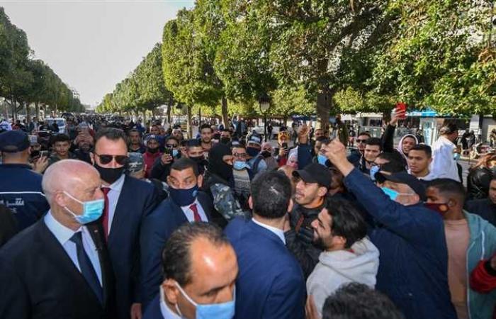 #المصري اليوم -#اخبار العالم - في أول ظهور منذ محاولة تسميمه.. قيس سعيد يتجول في العاصمة تونس (فيديو وصور) موجز نيوز