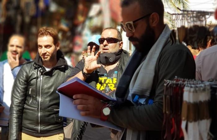 """#اليوم السابع - #فن - سامح عبدالعزيز رايح جاى بين فيلم """"تماسيح النيل"""" ومسلسل """"حرب أهلية"""""""
