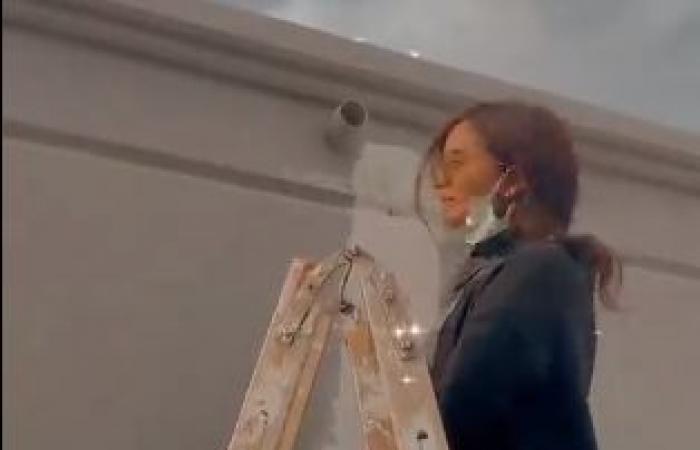 """#اليوم السابع - #فن - زينة تتحول إلى """"نقّاش"""" فى أحدث ظهور : يا ناس انا بعمل كل حاجة بإيدى.. فيديو"""