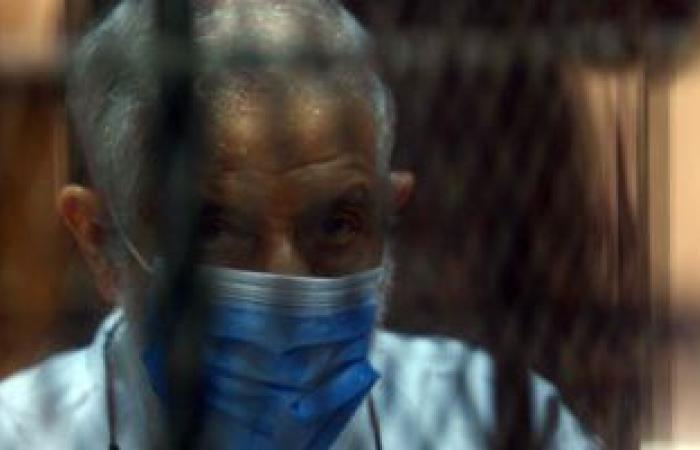 #اليوم السابع - #حوادث - حجز محاكمة القيادى الإرهابى محمود عزت بقضية أحداث مكتب الإرشاد لجلسة 8 أبريل