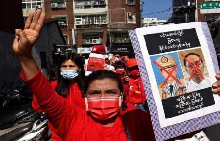 تسقط الدكتاتورية العسكرية.. طوفان المظاهرات يغرق ميانمار
