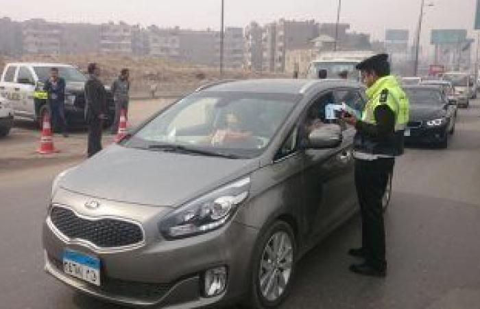 #اليوم السابع - #حوادث - حملات مرورية بمحاور القاهرة والجيزة لرصد مخالفى قواعد المرور
