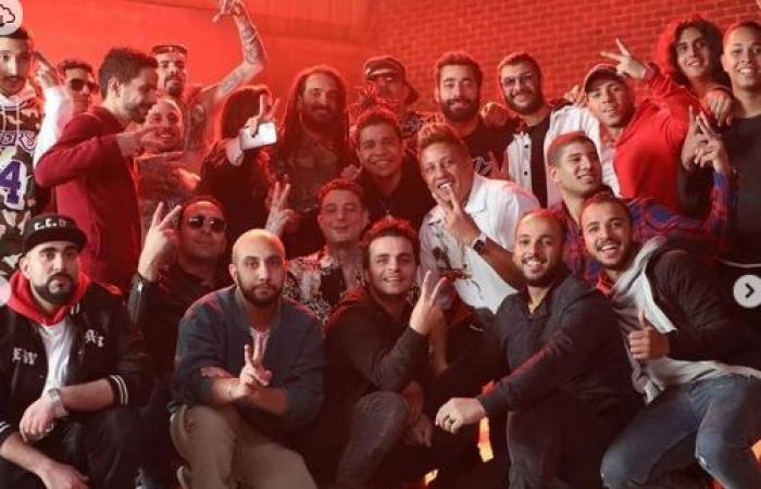 #اليوم السابع - #فن - بعد طرحه نمبر 2 .. أحمد الفيشاوى فى صور جديدة من كواليس تصوير الكليب