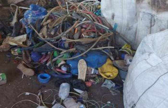 #اليوم السابع - #حوادث - ضبط مصنع بدون ترخيص لإنتاج المواد البلاستيكية من النفايات الخطرة بطوخ