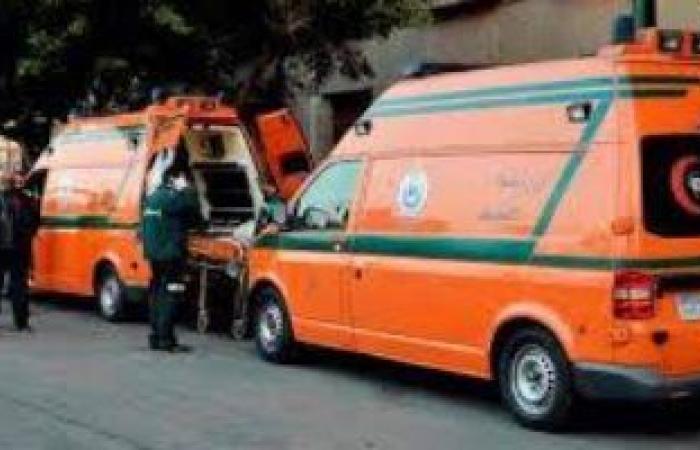 """#اليوم السابع - #حوادث - إصابة 4 أشخاص فى حادث انقلاب سيارة ملاكى بـ""""صحراوى أسوان"""""""
