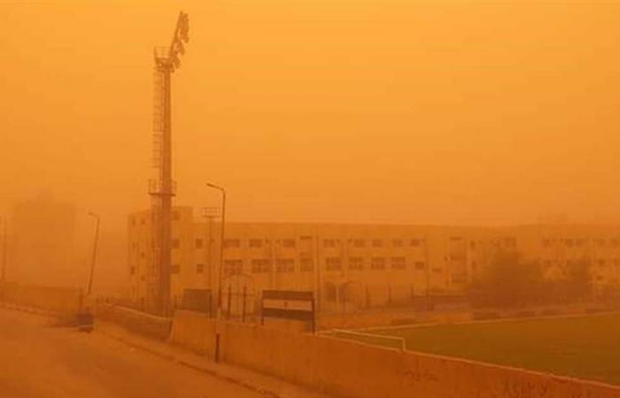المصري اليوم - اخبار مصر- عاصفة ترابية وانخفاض في درجات الحرارة بالبحر الأحمر موجز نيوز