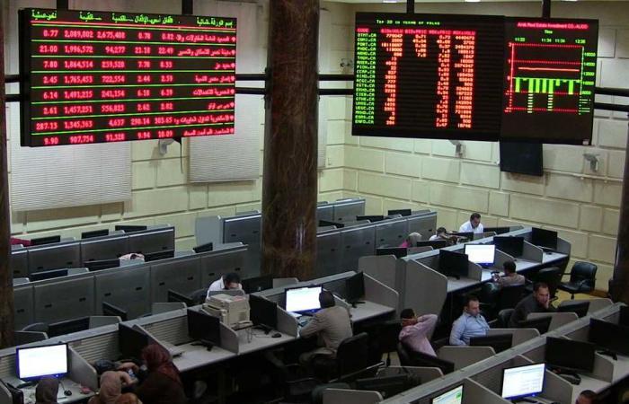 #المصري اليوم - مال - التراجع سيد الموقف في نهاية تعاملات البورصة بفضل مبيعات المصريين موجز نيوز