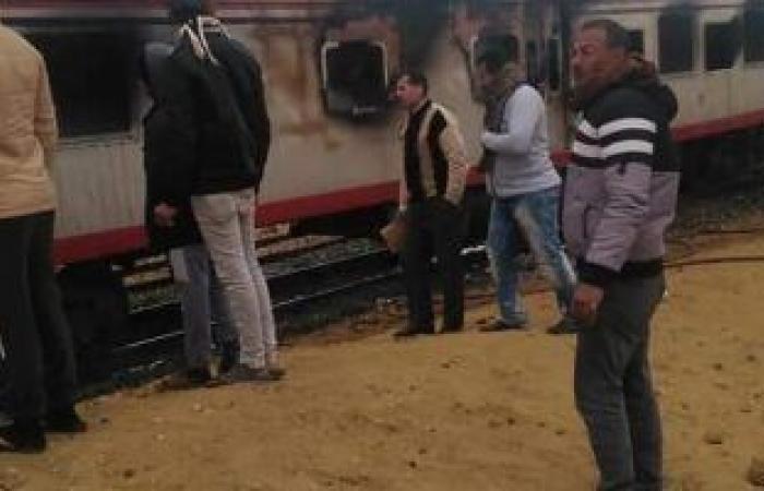 #اليوم السابع - #حوادث - الحماية المدنية تسيطر على حريق بجرار قطار الركاب فى السويس