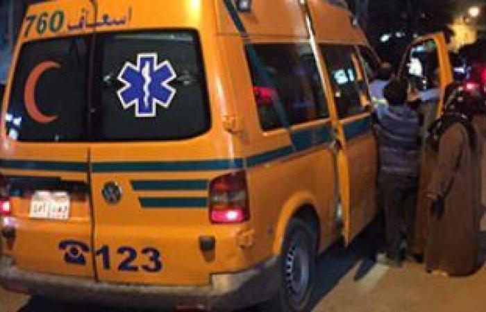 #اليوم السابع - #حوادث - إصابة 6 سيدات فى انقلاب تروسيكل على طريق بنى سويف الفيوم الصحراوى