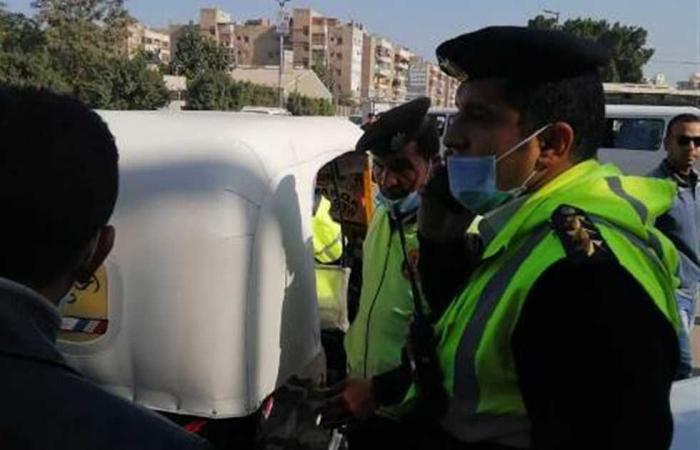 #المصري اليوم -#حوادث - ضبط 541 مخالفة مرورية بأسوان موجز نيوز