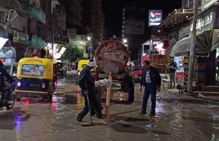 المصري اليوم - اخبار مصر- حملات للتخلص من مخلفات الأمطار في مدن كفر الشيخ (صور) موجز نيوز